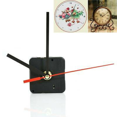 DIY Replacement Part Tool Set Clock Quartz Movement Mechanism Red and Black Hand