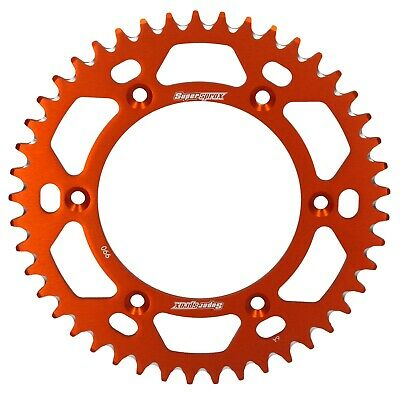 Supersprox Kettenrad Schlamm 45 Z orange passend für KTM LC4 640 SM Bj. 98-06