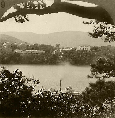 Keystone Stereoview of West Point, New York From Rare 1930's History Set # H79