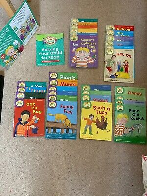 Oxford Learning Tree Read With Biff, Chip & Kipper Levels 1-3 Collection 31 Book