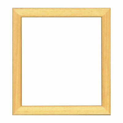 Wood Frame for Displaying Needlecraft Items | Natural | 21 x 23cm