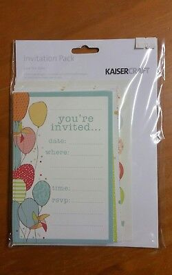 Save the date invitation pack by Kaisercraft,  invitations, birthdays, celebrate
