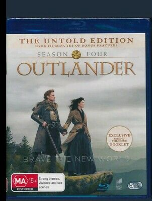 OUTLANDER, Season 4 - BRAND NEW & SEALED - Blu-ray DVD - GENUINE - Free Post