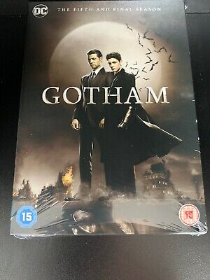 Gotham Season 5 (Fifth & Final) DVD - Official UK Stock New & Sealed (See Pic's)