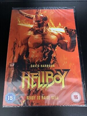 Hellboy 2019 DVD - Official UK Stock - Brand New & Sealed