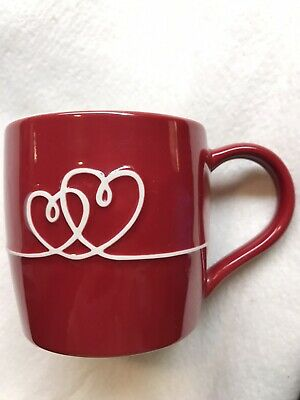 Starbucks 2010 Love Mug Red Porcelain Coffee Cup