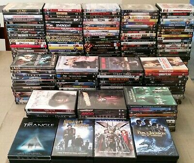 DVD's, TV SERIES, BLU-RAY, YOU CHOOSE, BUY MORE AND SAVE MORE.