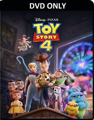 Toy Story 4 (2019) DVD ONLY *** The disc has never been watched *** Woody & Buzz