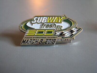2013 Subway Fresh Fit 500 Phoenix Nascar Racing Event Hat Pin