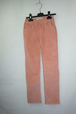 Zara Kids Pink Chord trousers Cotton 7/8 Years
