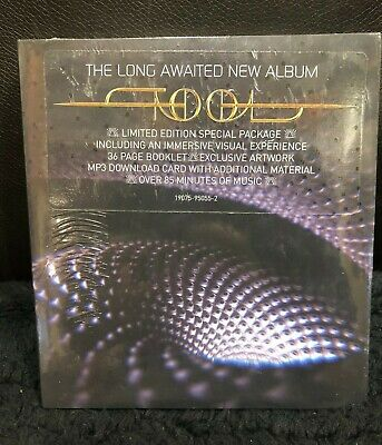 TOOL CD Brand New Sealed FEAR INOCULUM Deluxe Package FREE SHIPPING w tracking!