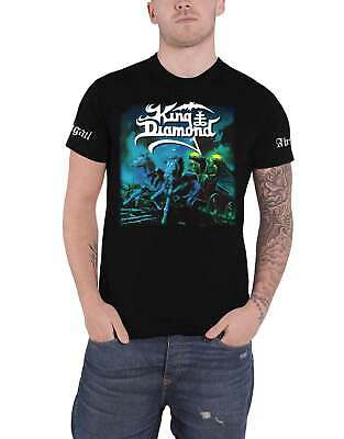 King Diamond T Shirt Abigail Band Logo new Official Mens Black