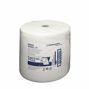 KIMBERLY-CLARK WYPALL* L40 Chiffons d'essuyage - grand rouleau, 7452