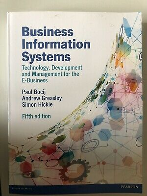 Buisness Information Systems Fifth Edition