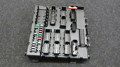 03-07 Saab 9-3 93 Convertible Sedan Fuse Relay Brain Box In Trunk 121215