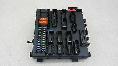 03-07 Saab 9-3 93 Convertible Sedan Fuse Relay Brain Box In Trunk 31615