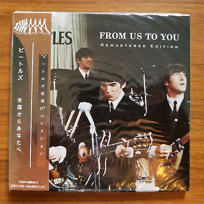 Beatles - From Us To You - NEW sealed Mini-LP 2CD's