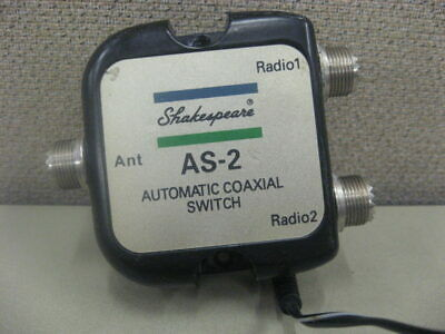 Shakespeare AS-2 Automatic Coaxial Switch - 1 Antenna 2 Radio