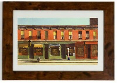 """Edward Hopper /""""Cape Cod Morning/"""" Albany Museum Of Art 1985 Lithograph NOS"""