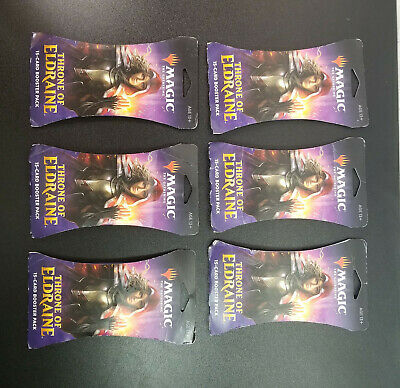6x Throne of Eldraine MTG Boosters Magic The Gathering Factory Sealed Cards Pack