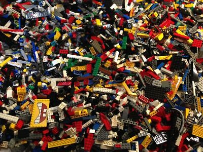 5lb Box of various Legos Mailed in a full Medium Flat Rate Priority Mailing Box