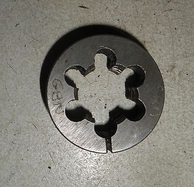 "UNC NC 3/4"" X 10 LH. LEFT. OD 1 1/2"" HSS Split Die Button, GOLIATH England"