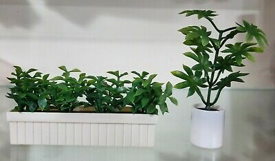 Tomy smaller homes and garden dollhouse accessories plants