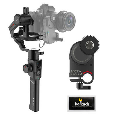 Moza Air 2 3-Axis Handheld Gimbal Stabilizer w/  Moza iFocus-M Motor & Wipes