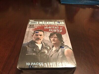 Topps The Walking Dead 2018 Box Trading Cards Hunters And The Hunted