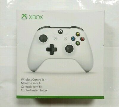 "Microsoft Xbox One White Controller ""NEW/SEALED"""