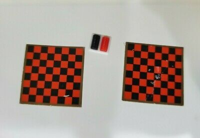 Tomy smaller homes and garden dollhouse accessories checker board and checkers