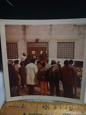 Rare Segregation Black Panther Rally African American Photo protests