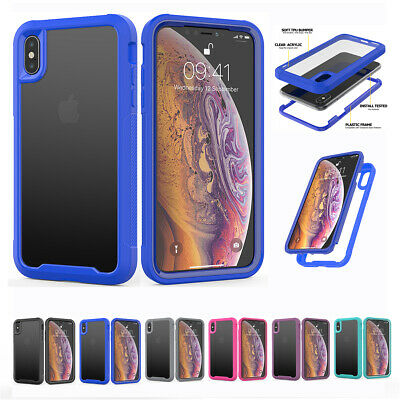 Hybrid Clear Case For Apple iPhone 11 Pro Max Heavy Duty Shockproof Back Cover