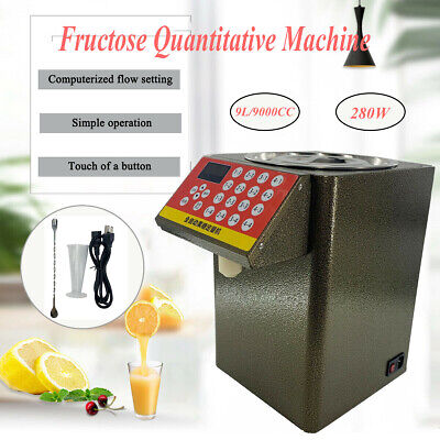 Fructose Quantitative Machine Automatic Dispense Machine Milk Powder Coffee Tea