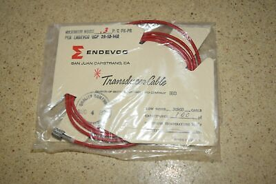"""ENDEVCO 3090B- ?"""" - 100pF 500˚F ACCELEROMETER CABLE- NEW (#46)"""