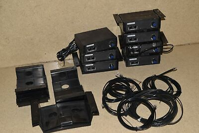 Radiomate Jackmate For Dispatch Two Way Radio Use - Lot Of 7