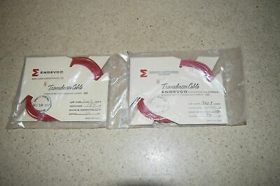 Endevco 3007 Transducer Cable- Lot Of 2 (Ff)