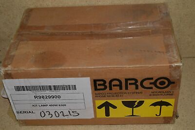 Barco Lamp 6300 Kit R9829900 - New (#1)