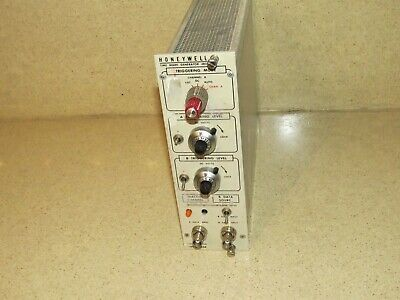 Honeywell Time Mark Generator 4822 Nim Bin Module Plug