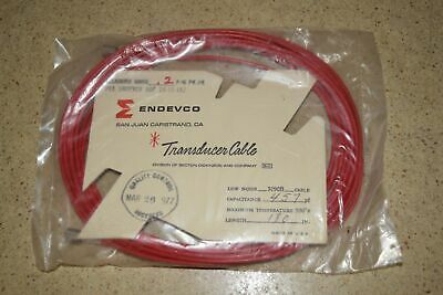"""ENDEVCO 3090B- 180"""" - 457pF 500˚F ACCELEROMETER CABLE- NEW (#32)"""