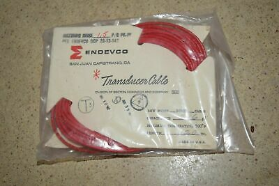 """ENDEVCO 3090B- 120"""" - 296pF 500˚F ACCELEROMETER CABLE- NEW (#20)"""