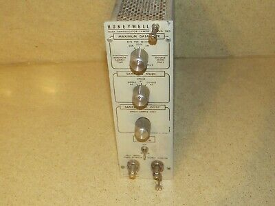 Honeywell Data Demodulator-Sample & Hold 7815 Nim Bin Module Plug
