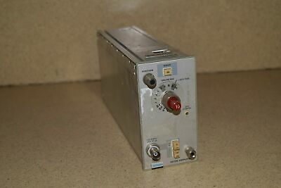 ^^ Tektronix 5A15N Amplifier Plug In (Tp276)