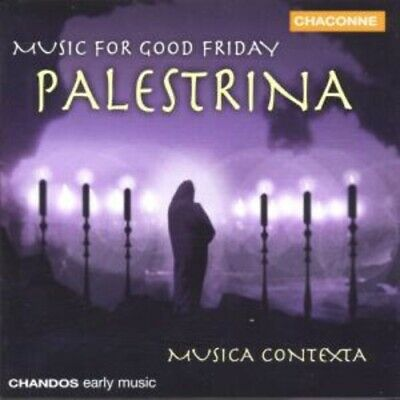 1-Cd Palestrina - Music For Good Friday - Musica Contexta (Condition: New)