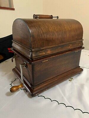 Edison Cylinder Phonograph Near Mint Condition