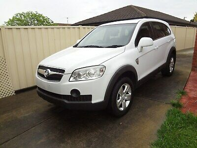 2010 Holden Captiva 7 seater SUV Petrol Automatic No RWC No Rego AS IS