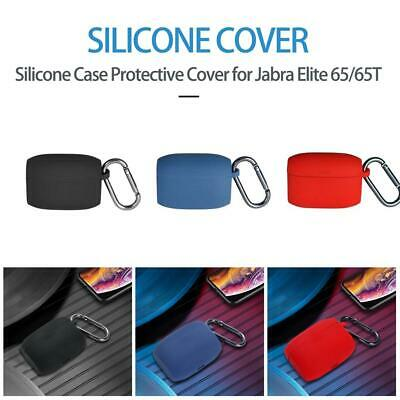 Silicone Case Protective Cover for Jabra Elite 65/65T With hook