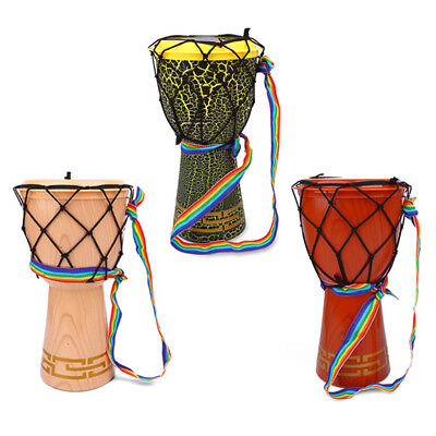 Kids Children's 12 Inch Djembe African Drum Musical Percussion Toy Gift