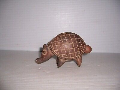 Pre-Columbian Costa Rican Pottery Armadillo Whistle Artifact