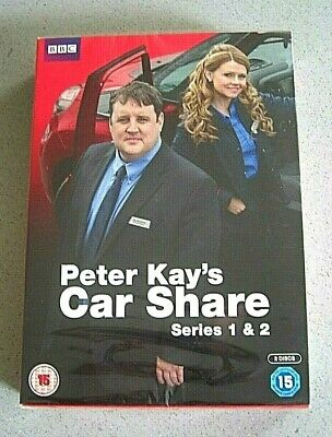 Peter Kay's Car Share Complete Series 1 & 2 Dvd *New & Sealed/Free Recorded P&P*